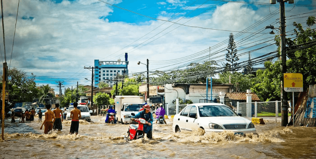 inondations en ville