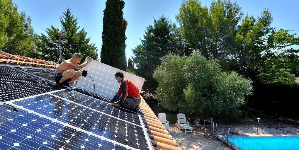 panneaux solaires toiture