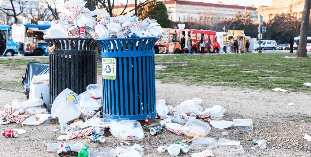 poubelles déchets