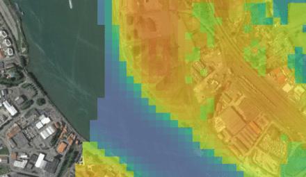 carte ilots chaleur urbain Bayonne