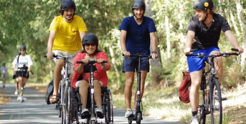 omni trottinettes fauteuil roulant
