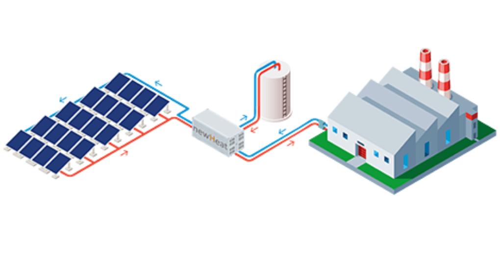 Newheat fournisseur chaleur solaire