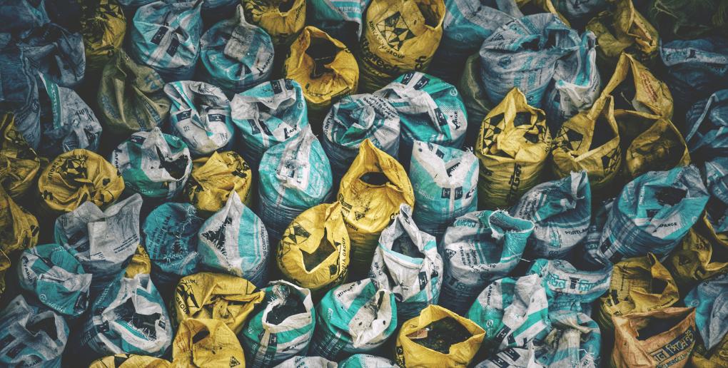 sacs de déchets
