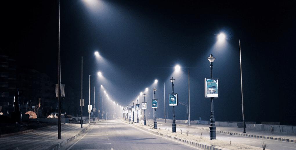 éclairage urbain
