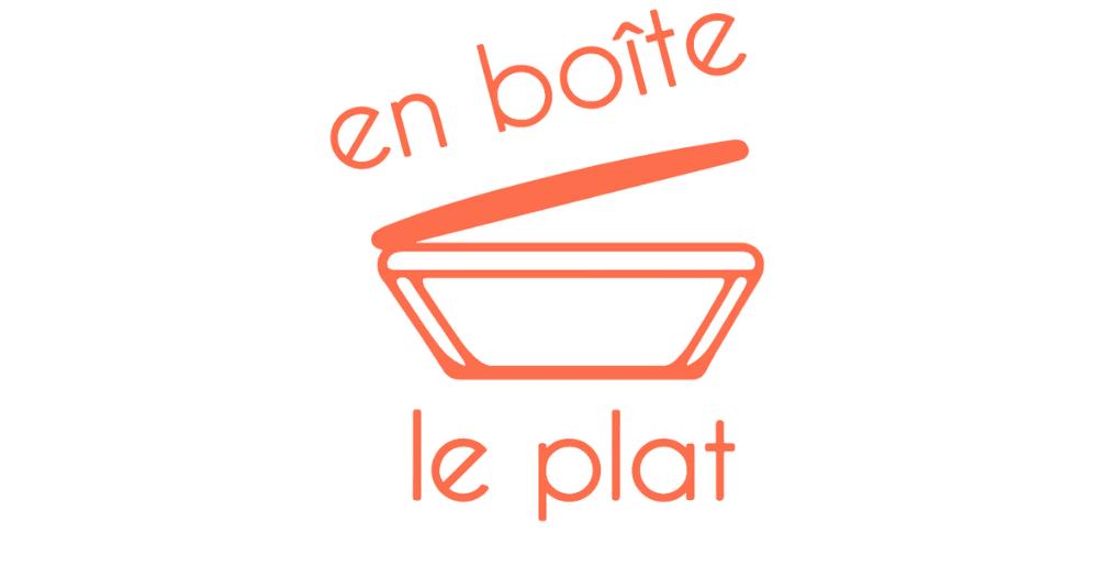 En boîte le plat logo