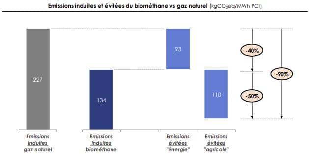 comparaison biomethane et gaz naturel