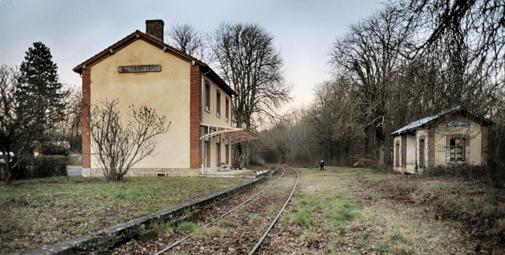 ancienne voie ferroviaire