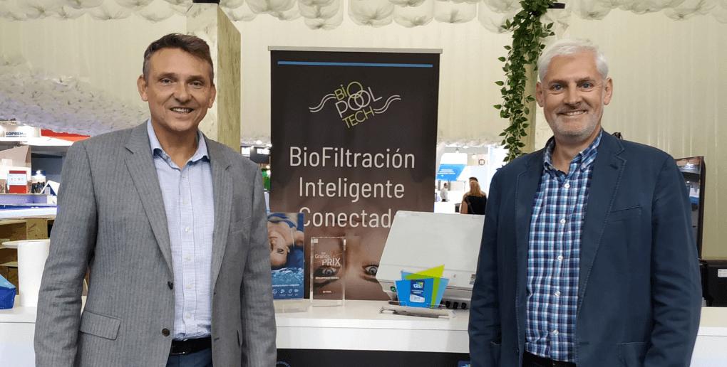 Jérome Viala et Emmanuel Berthod, les fondateurs de BioPoolTech