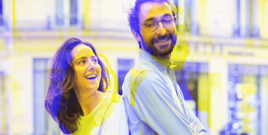 Camille Azoulai et Adrien Decastille, co-fondateurs de Funky Veggie