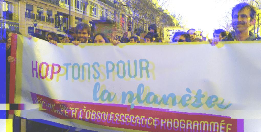 manifestation association HOP