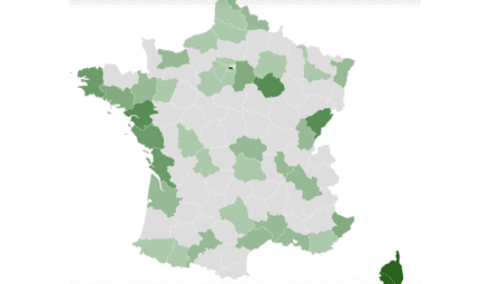 carte affichage environnemental hôtels france