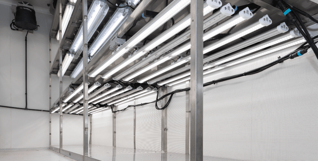 dispositif d'éclairage pour ferme urbaine