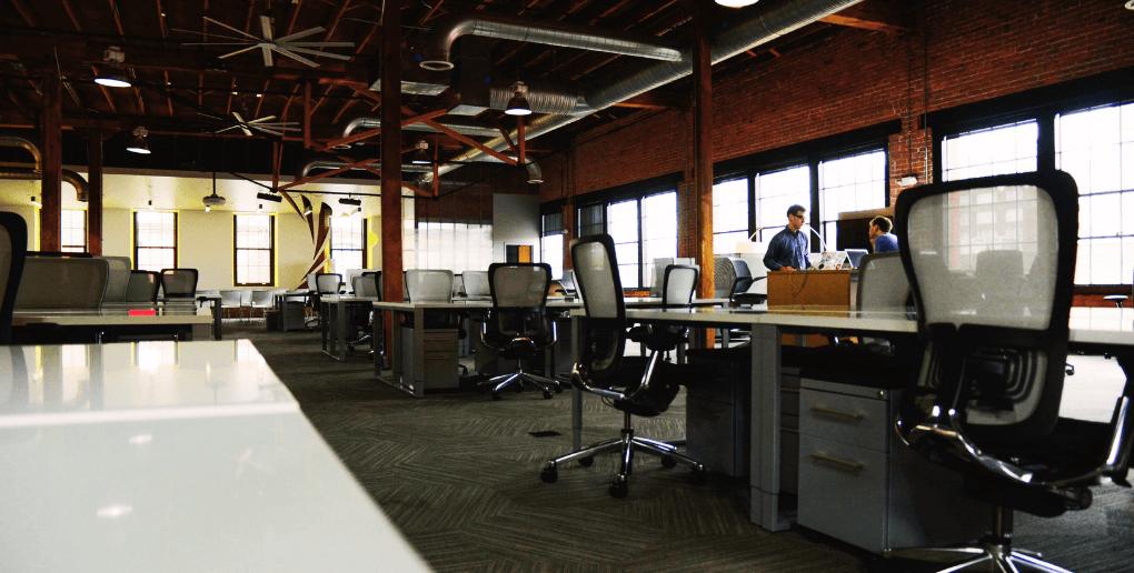 grand espace de coworking
