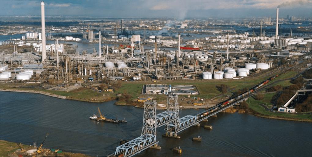 industrie portuaire Rotterdam