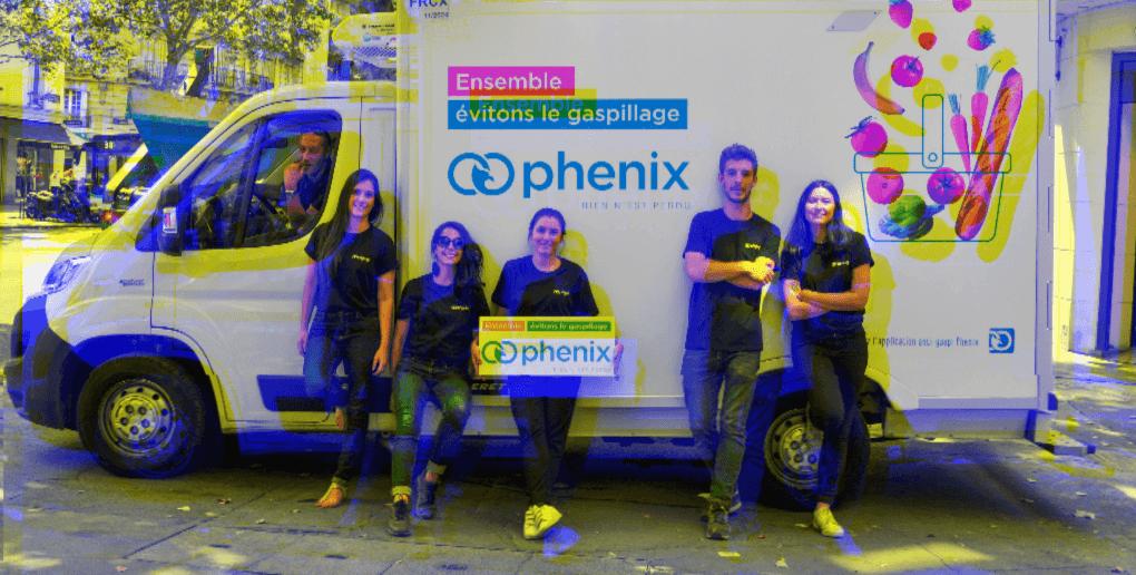 équipe Phénix antigaspillage