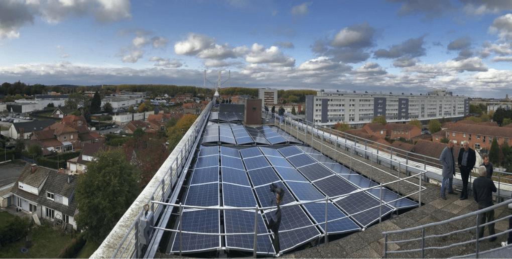 panneaux solaires lycée hauts-de-france