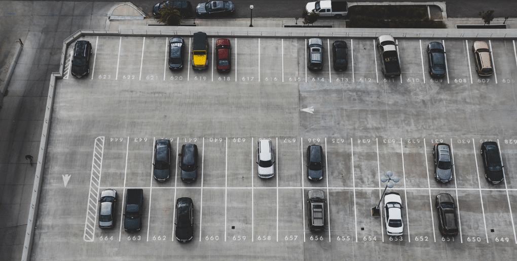 parking vu du ciel