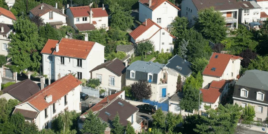 quartier pavillonnaire