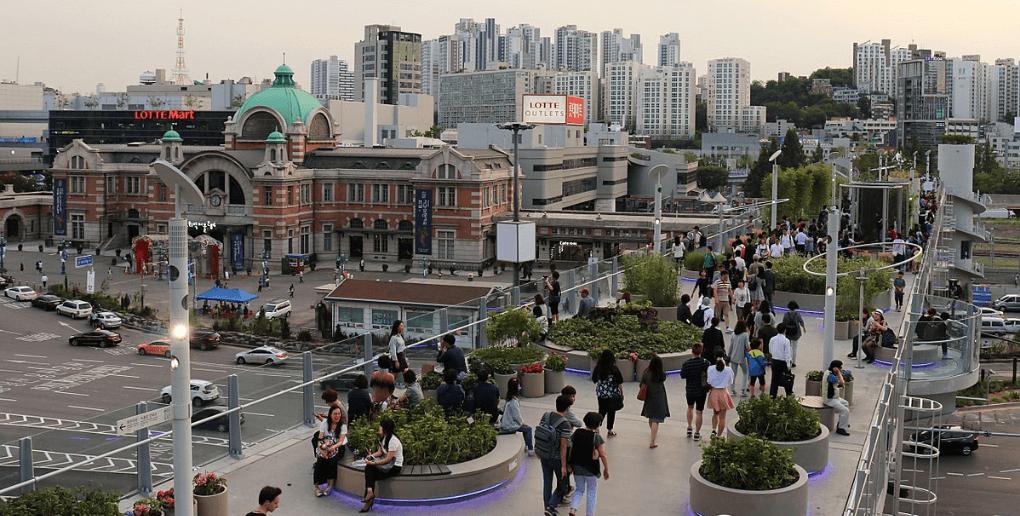 Séoul reconversion autoroute