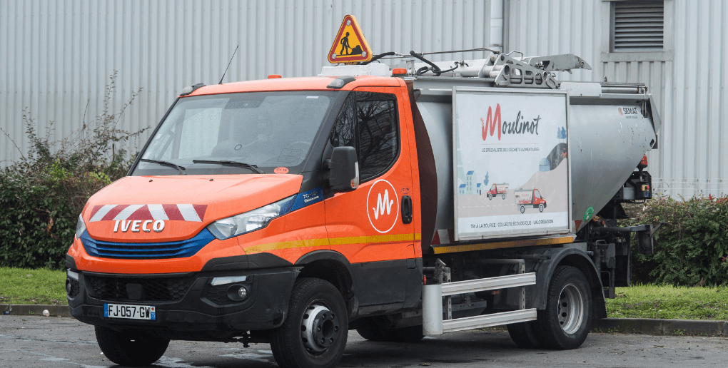 Camion de collecte Moulinot