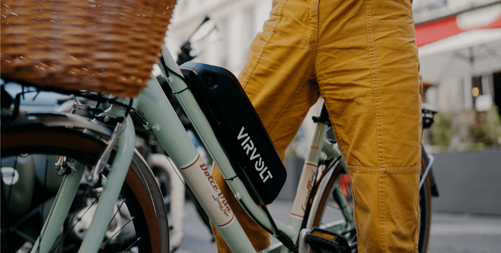 batterie et vélo Virvolt