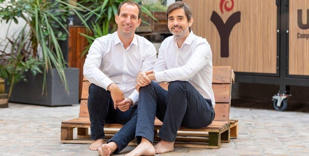 Les 2 cofondateurs d'upcycle