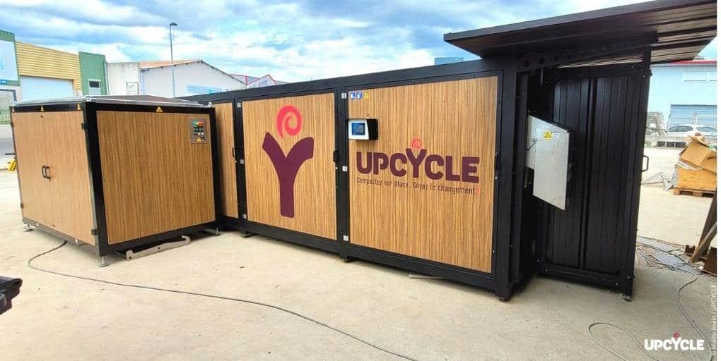 Un composteur de la marque UpCycle