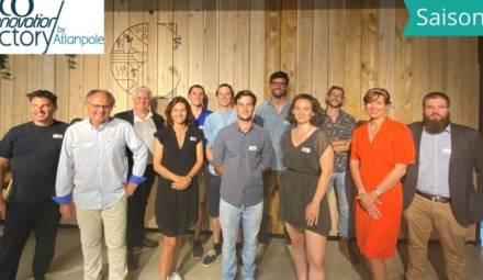 Les lauréats de la saison 9 de l'Eco-Innovation factory